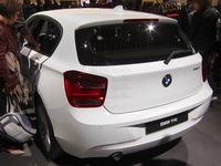 BMW 114i - rear view