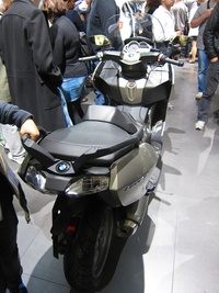 BMW C 650 GT - rear view