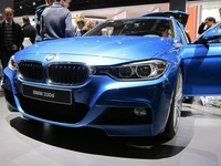 BMW 330d - front view