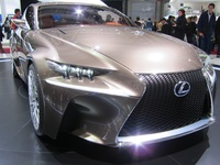 Lexus at Paris Motor Show 2012