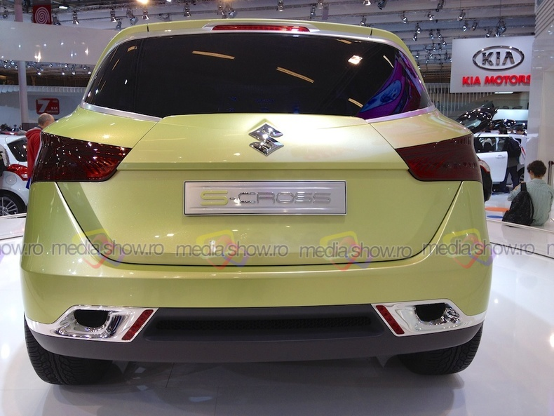 Suzuki S-cross - rear view