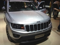 Jeep Compass Limited CRD - frontal view