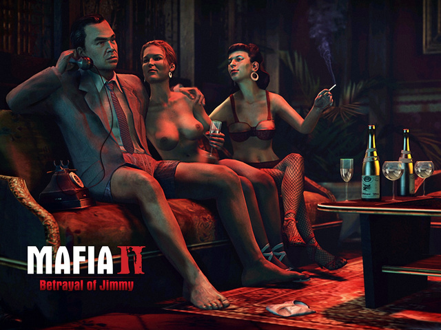 Mafia II - Betrayal of Jimmy - threesome