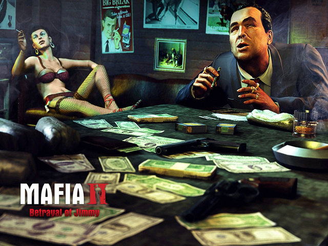 Mafia II - Betrayal of Jimmy - Sex, Money and Guns