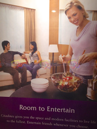 2013 - Citadines - Room to Entertain. Um.. Invitation to threesome?