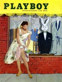 1955 - Playboy magazine cover of June