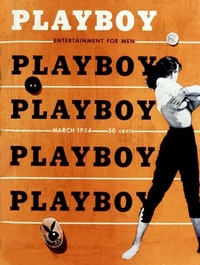 1954 - Playboy magazine cover of March