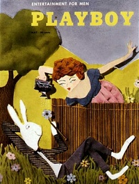 1954 - Playboy magazine cover of May