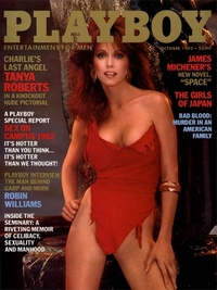 1982 - Playboy magazine cover of October