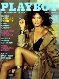 1982 - Playboy magazine cover of March