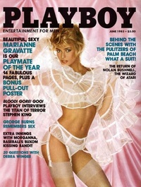 1983 - Playboy magazine cover of June