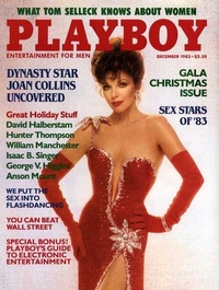 1983 - Playboy magazine cover of December
