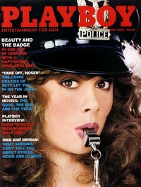1982 - Playboy magazine cover of May