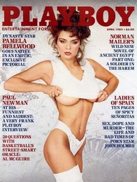 1983 - Playboy magazine cover of April