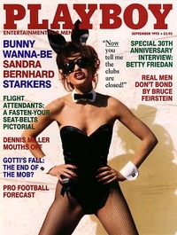 1992 - Playboy magazine cover of September
