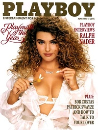 1992 - Playboy magazine cover of June