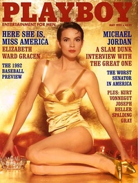 1992 - Playboy magazine cover of May
