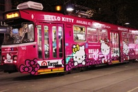 hello-kitty-tram