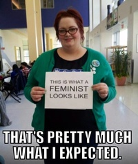 This is what FEMINIST looks like