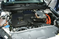Ford Mondeo Hybrid - engine
