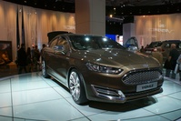 Ford Vignale Sedan - frontal angle view