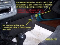 honda accord 94 obd connector