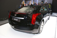2014 Cadillac ELR - rear angle view