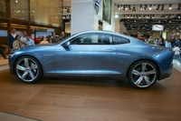 Volvo Concept Coupe - side view