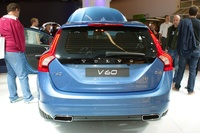 Volvo V 60 D4 - rear view