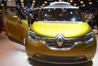 Renault Frendzy Concept - frontal view