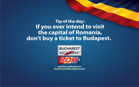 If you ever intend to visit Romania's Capital, do not buy a ticket to Budapest