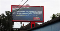 Rom Billboard - Welcome to NOT Bucharest