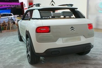 Citroen Cactus - rear view
