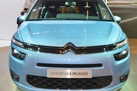 Citroen Grand C4 Picasso 2014 - frontal view