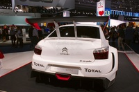 New Citroen C-Elysee WTCC - rear view
