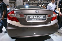 Honda Civic Sedan 2014 - rear view closeup