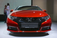Honda Civic Tourer - frontal view