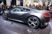 Honda NSX Concept 2014 - side angle view
