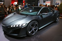 Honda NSX Concept 2014 - side front angle view