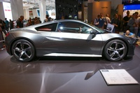 Honda NSX Concept 2014 - side view