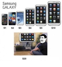 Samsung Galaxy natural trend