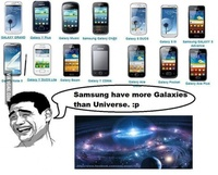 Samsung have more Galaxies than Universe