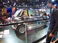 1999 David Bowie's Mini Classic with a fully chrome-plated body and mirrored windows