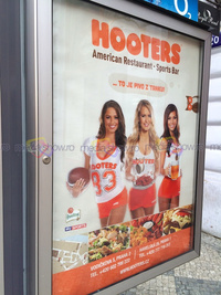 2015 - Hooter - American Restaurant Sports Bar in Prague