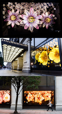 2015 - Apple Watch Commercial Amazing Flowers in Selfridges, London