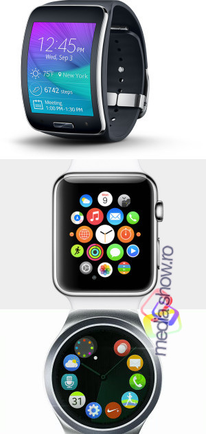 Samsung Gear Before and After Apple Watch
