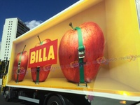 2015 - Billa - Giant Apples Carefully Shipped