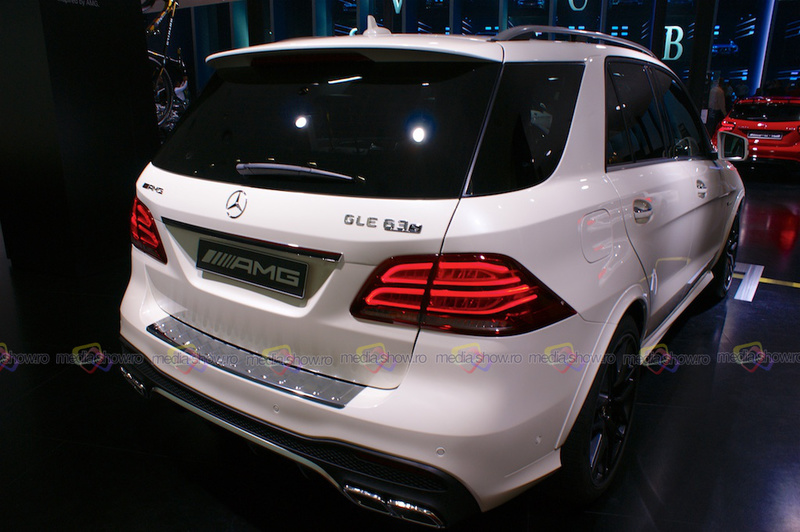 Mercedes-AMG GLE 63 S 4Matic - Rear View