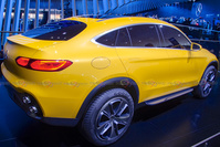 Mercedes-Benz Concept GLC Coupe - Rear View