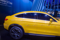 Mercedes-Benz Concept GLC Coupe - Side View